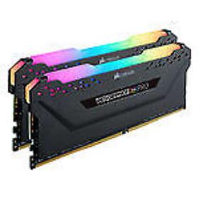 Corsair Vengeance Black RGB LED Pro DDR4 3200MHz 2x8GB (CMW16GX4M2C3200C14)