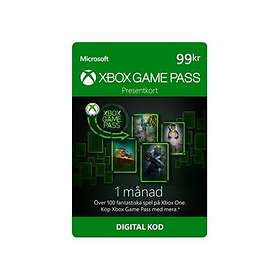 Microsoft Xbox Game Pass 1 Month Card