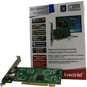 KWorld PCI Hybrid TV Card II PC231-D RDS