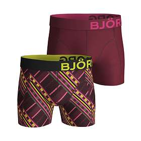 Björn Borg Massai Cotton Stretch Shorts 2-Pack