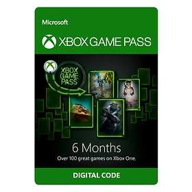 Microsoft Xbox Game Pass 6 Months Card