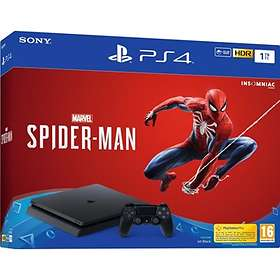 Sony PlayStation 4 Slim 500GB (inkl. Spider Man)