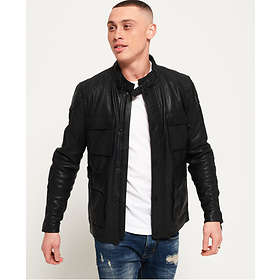 Find the best price on Superdry Leather Rotor Jacket (Men s ... e625fbcb07ff
