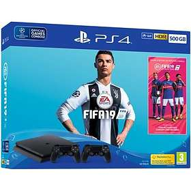 Sony PlayStation 4 Slim 500GB (+ FIFA 19 + 2nd DualShock)