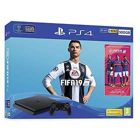 Sony PlayStation 4 Slim 500GB (inkl. FIFA 19)