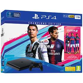 Sony PlayStation 4 Slim 1To (+ FIFA 19 - Champions Edition)