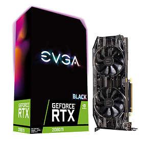 EVGA GeForce RTX 2080 Ti Black HDMI 3xDP 11Go