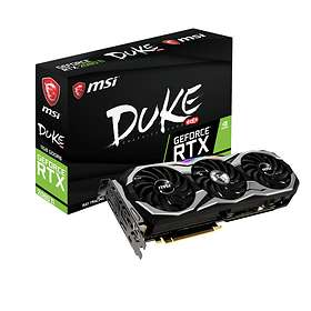 MSI GeForce RTX 2080 Ti Duke OC HDMI 3xDP 11Go