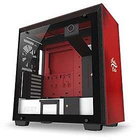 NZXT H700 Nuka-Cola (Röd/Svart/Transparent)