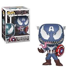 Funko POP! Marvel Venom Venomized Captain America
