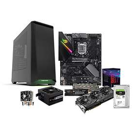 Komplett PC i delar Intel Premium Gamer - 3,6GHz OC 16GB 1,26TB