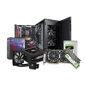 Komplett PC i delar Xtreme Gamer - 4,0GHz HC 32GB 512GB