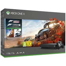 Microsoft Xbox One X 1TB (inkl. Forza Horizon 4 + Forza Motorsport 7)