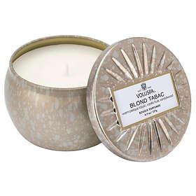 Voluspa Petite Decorative Tin Candle Blond Tabac