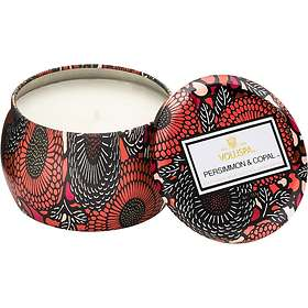 Voluspa Petite Decorative Tin Candle Persimmon & Copal