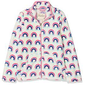 Hatley Pretty Rainbows Fuzzy Fleece Jacket (Flicka)
