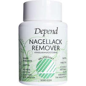 Depend Miljomarkt Dip In Acetone Free Nail Polish Remover 75ml