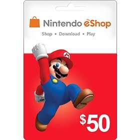 Nintendo eShop Card - 50 USD
