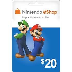 Nintendo eShop Card - 20 USD