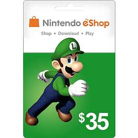 Nintendo eShop Card - 35 USD