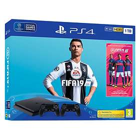 Sony PlayStation 4 Slim 1To (+ FIFA 19 + 2nd DualShock)
