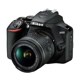 Nikon D3500 + AF-P 18-55/3,5-5,6 VR + AF-P 70-300/4,5-6,3 VR