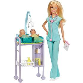 Barbie Baby Doctor Playset Doll DVG10