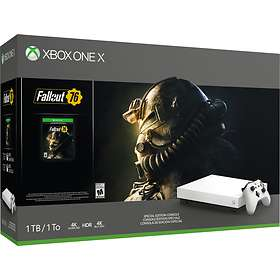 Microsoft Xbox One X 1TB (ink. Fallout 76) - Limited Edition