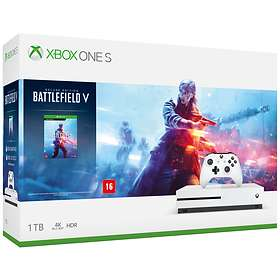 Microsoft Xbox One S 1TB (ml. Battlefield V - Deluxe Edition)