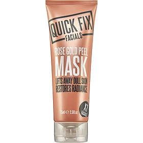 Quick Fix Facials Rose Gold Peel Mask 100ml