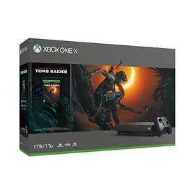Microsoft Xbox One X 1To (+ Shadow of the Tomb Raider + FIFA 19)