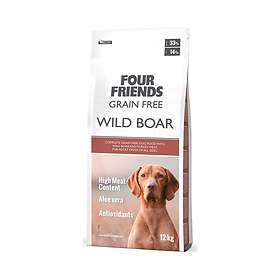 Four Friends Dog Grain Free Wild Boar 12kg