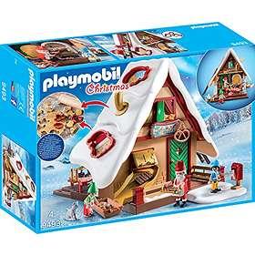 Playmobil Christmas 9493 Atelier de biscuit du Père Noël avec moules