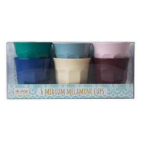 Rice Melamin Mugg 25cl 6-pack