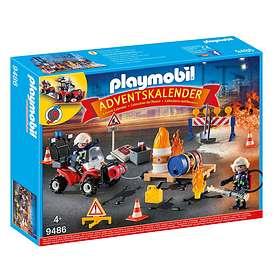 Playmobil Christmas 9486 Brandmän Julekalender 2018