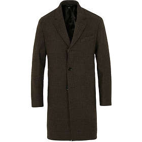 Hugo Boss Shawn Glenncheck Wool Coat (Herr)