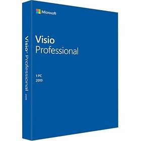 Microsoft Visio Professional 2019 Eng (PKC)