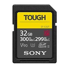 Sony Tough SDHC Class 10 UHS-II U3 V90 300/299MB/s 32GB
