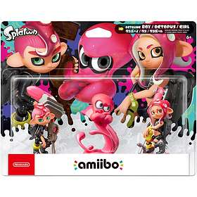 Nintendo Amiibo - Triple Pack Splatoon 2 Octoling