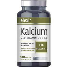 Elexir Pharma Kalsium Magnesium 120 Tabletit