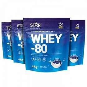 Star Nutrition Whey-80 16kg