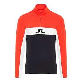 J.Lindeberg Kimball Striped Mid Field Sweater Half Zip (Miesten)