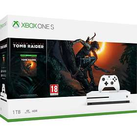 Microsoft Xbox One S 1To (ink. Shadow of the Tomb Raider + RDR2)