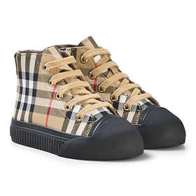 Burberry Vintage Check And Leather High Top (Unisex)