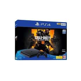 Sony PlayStation 4 Slim 500GB (inkl. Call of Duty: Black Ops IV)