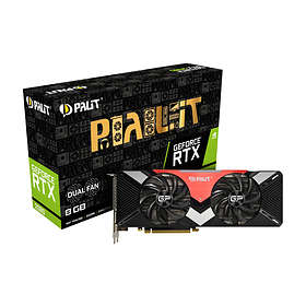 Palit GeForce RTX 2080 Dual HDMI 3xDP 8GB