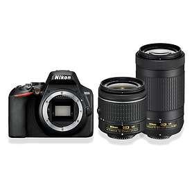 Nikon D3500 + AF-P 18-55/3,5-5,6 + AF-P 70-300/4,5-6,3