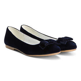 United Colors of Benetton Velvet Flats With Bow