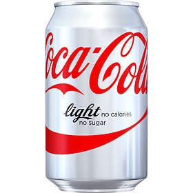 Coca-Cola Light Burk 0,33l 24-pack
