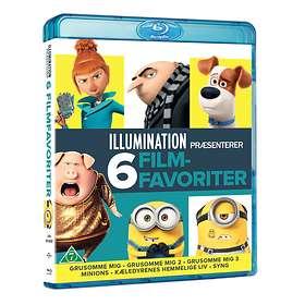 Illumination - 6 Movie Collection (DK)